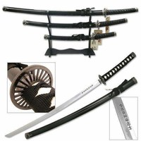 3pc Samurai Sword Set SW-68B4