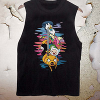 Adventure Time funny tanktop for men and women