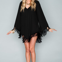 Rodeo Dress Black Crisp