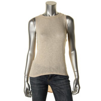 Bar III Womens Slub Knit Pullover Top