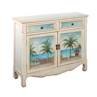 Seascape Cream Cupboard