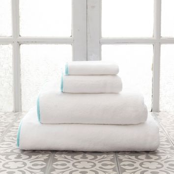 PCH Signature Banded Sky Towel