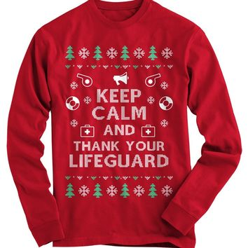 Lifeguard Ugly Christmas Sweater