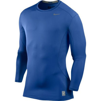 Nike Core Fitted LS Top 1.2 - Royal - X-Large 449788-495-XL