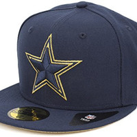 New Era Dallas Cowboys Super Bowl XXVIII Gold Team Logo Fitted Cap, 7 1/8