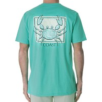 Sketch Crab Classic Tee in Seafoam by Coast