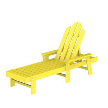 Lounge Chair - Yellow