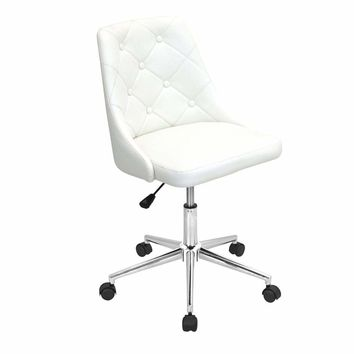 OFC-MARCHE W Marche Height Adjustable Office Chair with Swivel