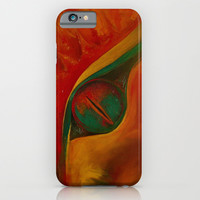 DRAGON EYE iPhone & iPod Case by Deyana Deco