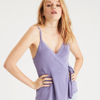 AE Wrap Front Tank , Lively Lilac