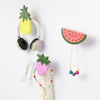 Fresh Fruit Wall Hook in Shelves & Hooks | The Land of Nod