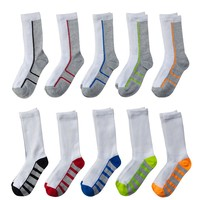 Tek Gear 10-Pack Crew Socks - Boys (White)