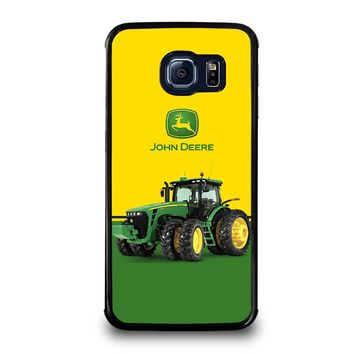JOHN DEERE WITH TRACTOR Samsung Galaxy S6 Edge Case Cover