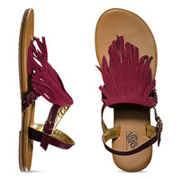 Kihana Fringe | Shop Womens Sandals at Vans