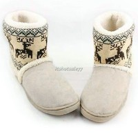 ItS7 New Hotsale Women's Warm Snow Boots Shoes Thicken Winter Boots Sexy Sock