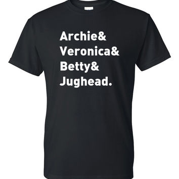 "Riverdale ""Archie & Veronica & Betty & Jughead"" T-Shirt"
