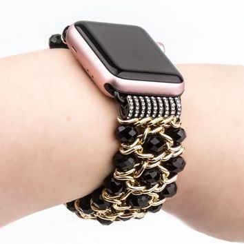 Bling Beads Chain for Apple Watch