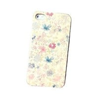 Fresh Small Floral Hard Cover Case for Iphone 4/4s