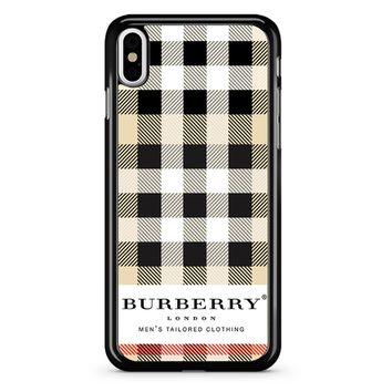 Burberry Logo iPhone X Case