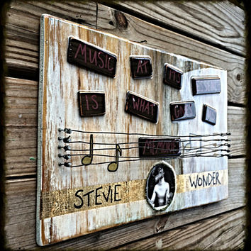 Stevie Wonder- Music at it's essence is what gives us memories