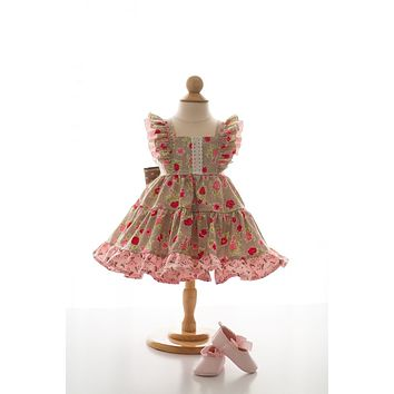 Bunny Blooms Flutter Dress RTS