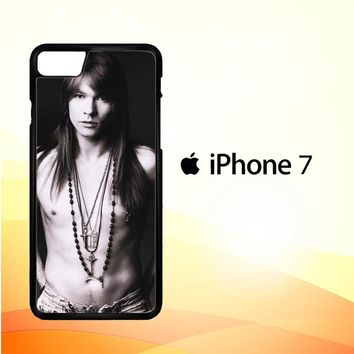 Axl Rose Guns and Roses wallpaper Y0566 iPhone 7 Case