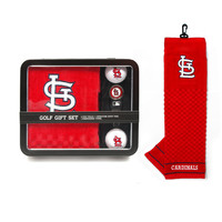 St. Louis Cardinals Golf Gift Set with Towel