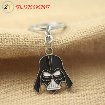 Star Trek Star Wars Pendant Key Chain Movies Jewelry For Men and Women12pcs/lot