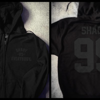Shady Vs. Everybody Zip-Up Champion Hoodie (Black)