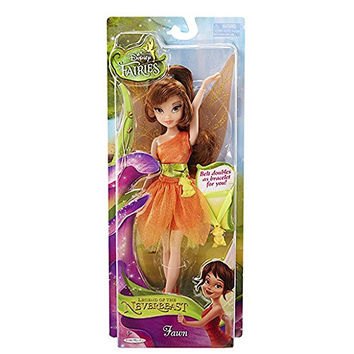 """Disney Fairies Legend of the Neverbeast- 9"""" Fawn Doll with Animal Charm Belt"""