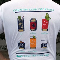 Country Club Cocktails Tee by Southern Proper & CCP