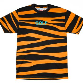 TIGER GOLF TEE ORANGE - ODD FUTURE