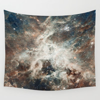 Space 08 Wall Tapestry by Aloke Design