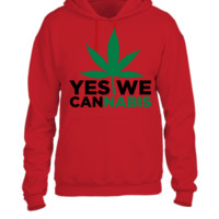 Yes We Cannabis  - UNISEX HOODIE