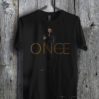 Captain Hook Once Upon a Time - zzz Unisex Tees For Man And Woman / T-Shirts / Custom T-Shirts / Tee / T-Shirt