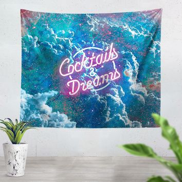 Cocktails And Dreams Tapestry