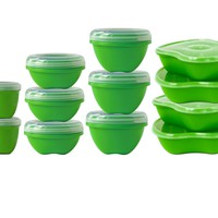 Preserve 14-Piece Food Storage Set Made from Recycled Plastic
