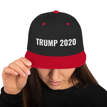 Embroidered Trump 2020 Snapback Hat