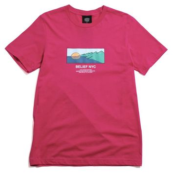 Horizon T-Shirt Berry