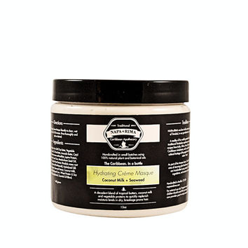 16 oz Hydrating Crème Masque with Coconut Milk + Seaweed