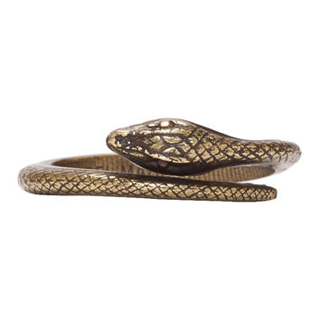 Isabel Marant Brass Snake Ring