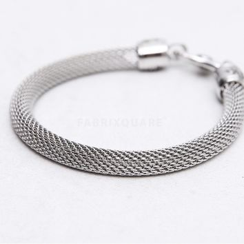 Mens jewelry Oriental Woven Soft Metal Bracelet at Fabrixquare