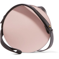 Marni - Tambourine color-block leather shoulder bag