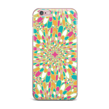 "Miranda Mol ""Flourishing Green"" Green Multicolor iPhone Case"