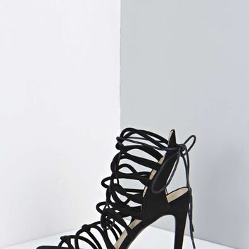 Anna Lace Up Gladiator Heels