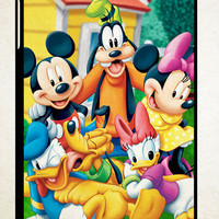 New disney mickey X0154 iPad 2 3 4, iPad Mini 1 2 3, iPad Air 1 2 , Galaxy Tab 1 2 3, Galaxy Note 8.0 Cases