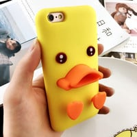 Cute Duck Case for iPhone