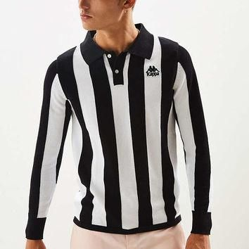 Kappa Authentic Pinturichio Long Sleeve Polo Shirt | Urban Outfitters