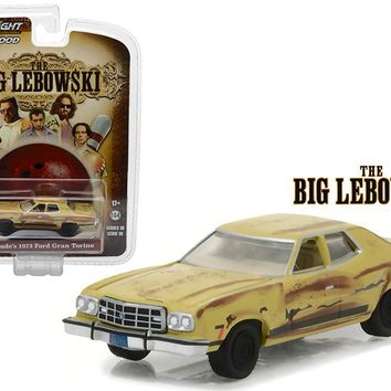 The Dude's 1973 Ford Gran Torino The Big Lebowski Hollywood 18 1:64 Diecast