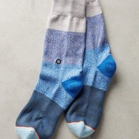 Indigo Patch Socks by Stance Blue One Size Socks